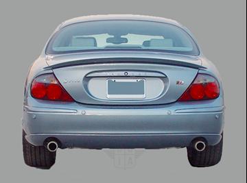 Afbeelding van Achterruit Jaguar S-type