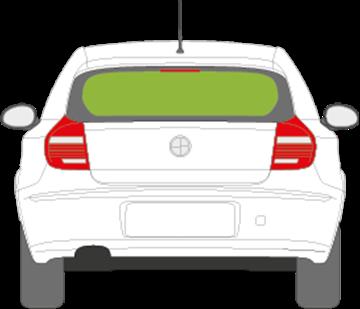 Afbeelding van Achterruit BMW 1-serie 3 deurs