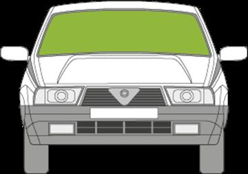 Afbeelding van Voorruit Alfa Romeo 75