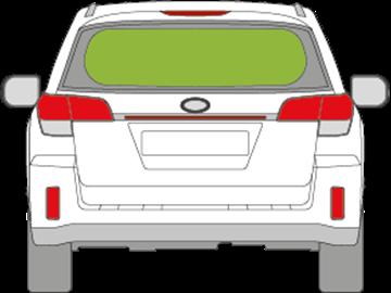 Afbeelding van Achterruit Subaru Legacy break