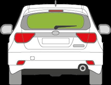 Afbeelding van Achterruit Subaru Impreza 5 deurs