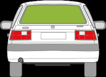 Afbeelding van Achterruit Volvo 440