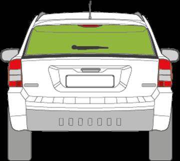 Afbeelding van Achterruit Jeep Compass