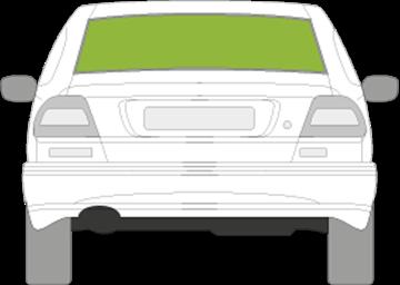 Afbeelding van Achterruit Volvo C70 2 deurs coupé