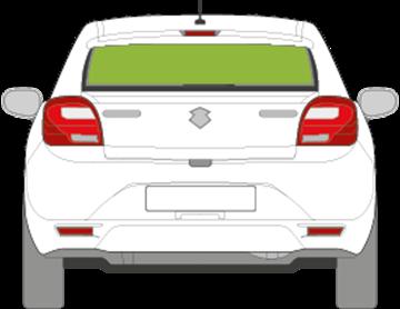 Afbeelding van Achterruit Suzuki Baleno 5 deurs