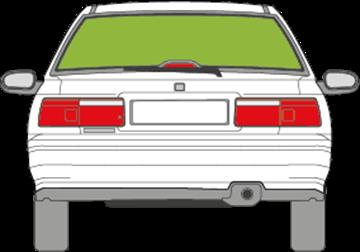 Afbeelding van Achterruit Honda Accord sedan
