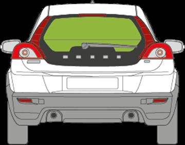 Afbeelding van Achterruit Volvo C30
