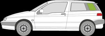 Afbeelding van Zijruit links Alfa Romeo 145