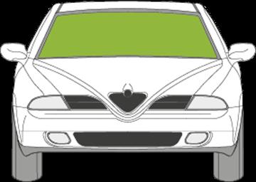 Afbeelding van Voorruit Alfa Romeo 166 met zonneband