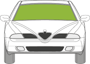 Afbeelding van Voorruit Alfa Romeo 166 met zonneband en sensor