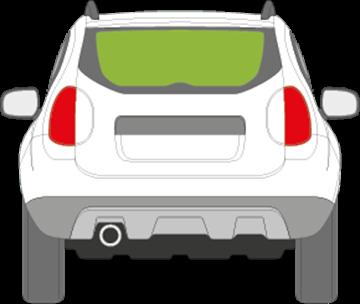 Afbeelding van Achterruit Dacia Duster