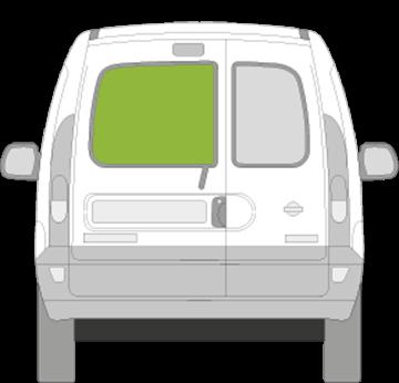 Afbeelding van Achterruit links Nissan Kubistar