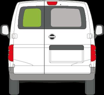 Afbeelding van Achterruit links Nissan NV200