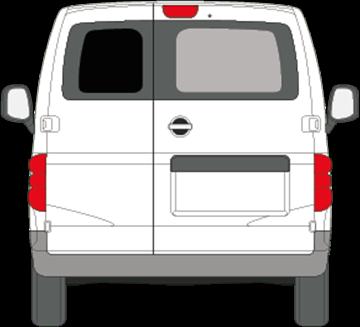 Afbeelding van Achterruit links Nissan NV200 (DONKERE RUIT)