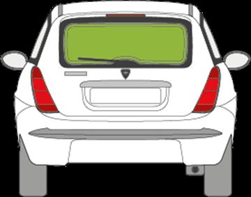 Afbeelding van Achterruit Lancia Ypsilon