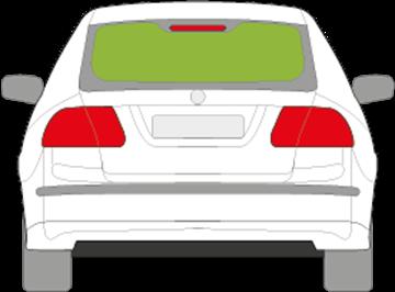 Afbeelding van Achterruit Saab 9.3 sedan